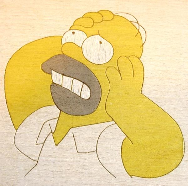 marqueterie Homer
