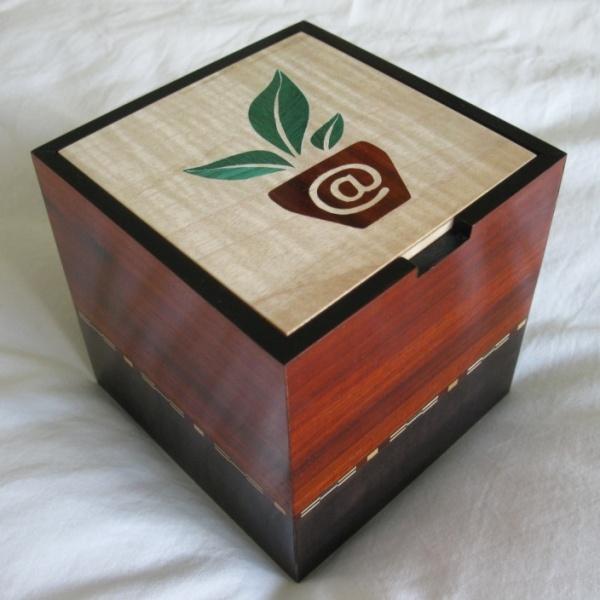 boîte marqueterie Cultive