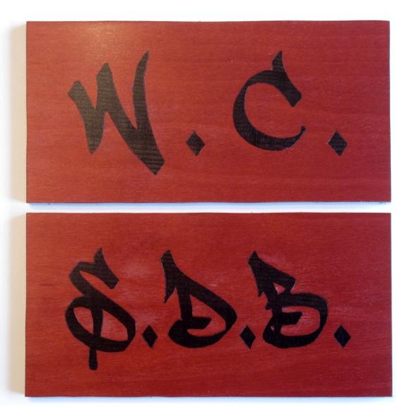 enseignes marqueterie style graffiti-nr2
