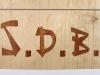 enseignes marqueterie style japonais B2
