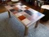 Table basse hêtre