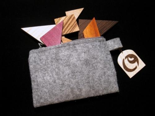 pochette tangram okleina